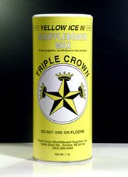 Triple Crown Yellow Ice III Table Shuffleboard Powder Wax by Unknown