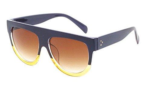 De Sol Redonda Metalizadas De De Gafas Sol Gafas A De segundo Gafas JUNHONGZHANG Moda Sol De Gafas De Montura Mujer Owa6xXv87
