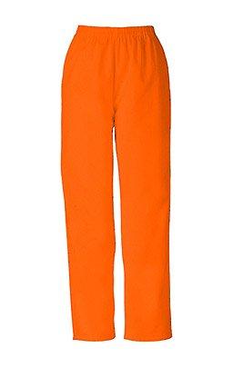 Cherokee Workwear Two Pocket Scrub Pant (Mandarin Orange, XS)