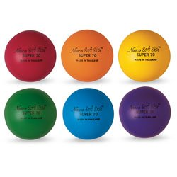 MAC-T PE07211E Soft Skin 2-1/2 in. Diameter Extra Durable Foam Ball, Super 70, All Grade Levels (Set of (Extra Balls)