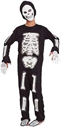 Partylandia Disfraz de Esqueleto con Huesos en 3D o Relieve, Talla ...
