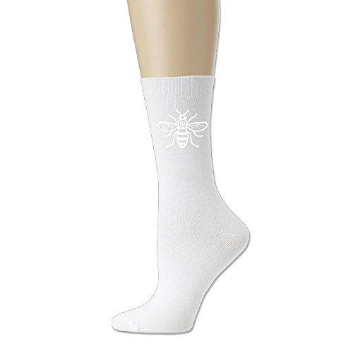 Manchester MCR Bee Men Women's Cotton Casual Socks - Stores Designer Manchester