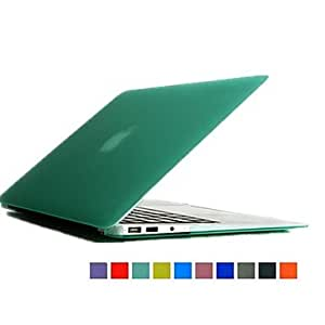 HP Novelty Dull Polish Foldable PC Body Protact Case for 13.3 Macbook Pro (Assorted Colors) , Red