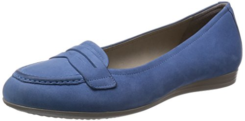 15 Kvinners Blå Loafers Ecco Retro Berørings xEqw8nnP5B