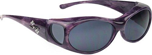 Jonathan Paul Fitovers Eyewear - Aurora - Purple Haze/polarized Grey - Oval - 133 X - Standard Lenses Polarized Vs