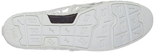 BOBS da Skechers Donne Luxe South Coast Flat, Crochet Bianco