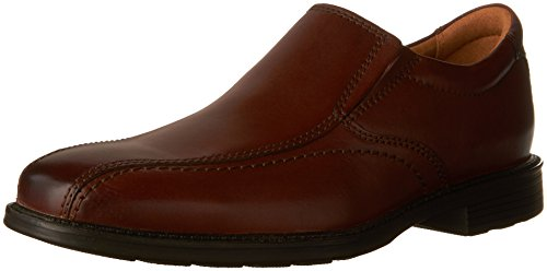 Bostonian Men's Hazlet Step Slip-On Loafer, Brown, 9 M US