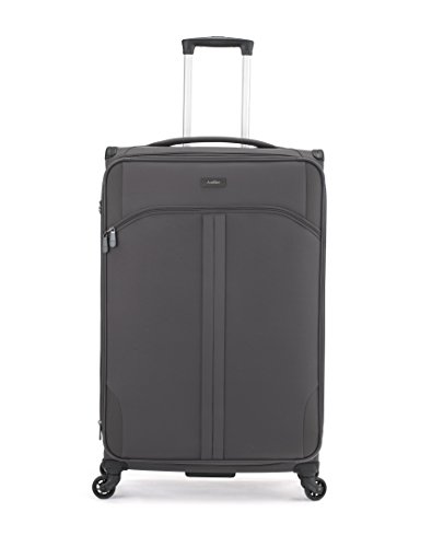 Antler Suitcase Aire, 4 Wheel Spinner, Large, 80 cm, 101 L, Charcoal