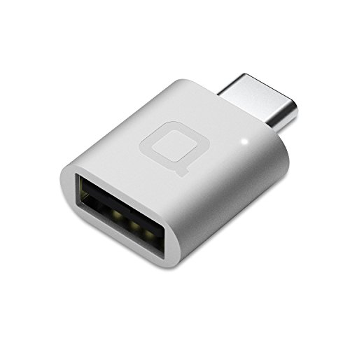 - nonda USB Type C to USB 3.0 Adapter, Thunderbolt 3 to USB Adapter Aluminum with Indicator LED for MacBook Pro 2019/2018, MacBook Air 2018, Pixel 3, Dell XPS, and More Type-C Devices(Silver)