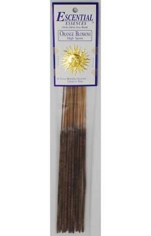 New Age Orange Blossom Escential Essences Incense Sticks