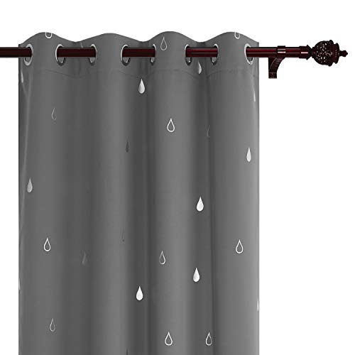 Amazoncom EASELAND 99 Blackout Curtains 2 Panels Set