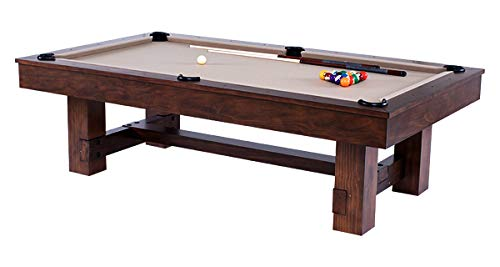 Denver Pool Table w/Premium Billiard Accessories