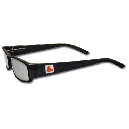 MLB Black Reading Glasses, +1.50, Boston Red Sox (Sox Mlb Glass)