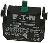 EATON CUTLER HAMMER E22B2 CONTACT BLOCK, 1NO, 10A, SCREW