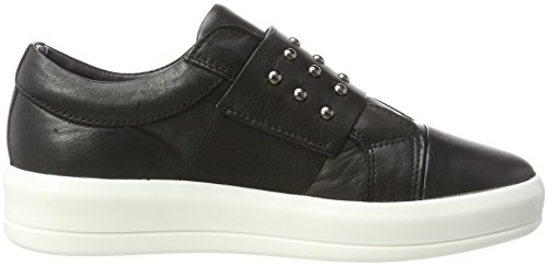 BIANCO Lux Nieten Sneaker, Sneaker Basse Donna Nero (Nero)