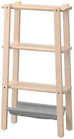 VILTO - Estantería (47 x 90 cm), diseño de abedul
