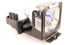 FI Lamps Replacement Lamp Module for Eiki 610-309-2706 6103092706 POA-LMP55 Projectors (Includes Lamp and Housing) -