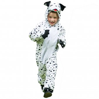 Travis Dress By Design Childs Dog Dalmation All In One Costume Dog Dalmation -3-5 Years ()