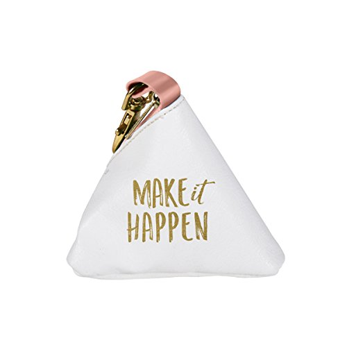 C.R. Gibson Canvas Change Purse, Make It Happen (Make Change Purse)