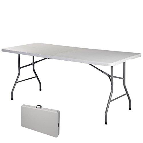 Klapptisch-Campingtisch-Biertisch-Koffertisch-Esstisch-Tisch-klappbar-Gartentisch-Balkontisch