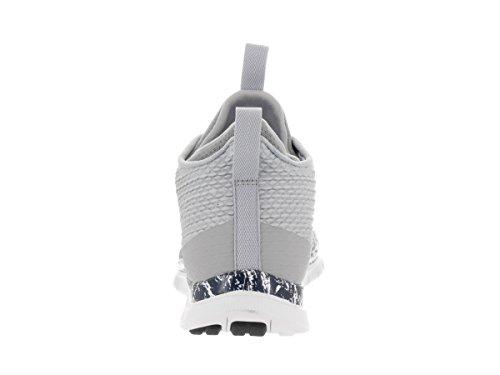 Nike Mens Gratis Hypervenom Två Träningsskon Wolf Grå Obsidian Vit 004