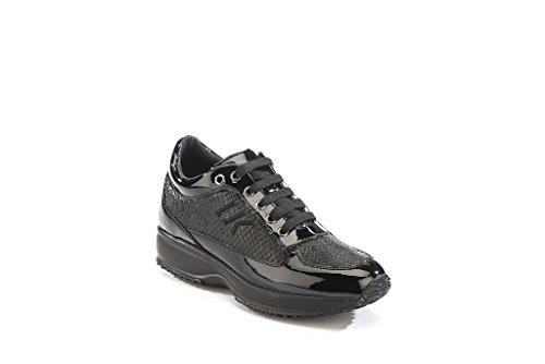Lumberjack SW01305-007-Q63 Zapatos de cordones Mujer Negro