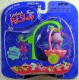 Littlest Pet Shop Pet Pairs Figures Dragonfly with Swing