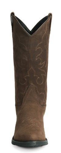 Old West Men's Trucker Western Work Boot Distressed 12 D(M) US