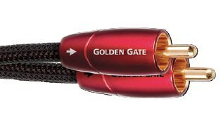 Audioquest - Golden Gate 26.2' Rca-to-rca Audio Cable - Blac