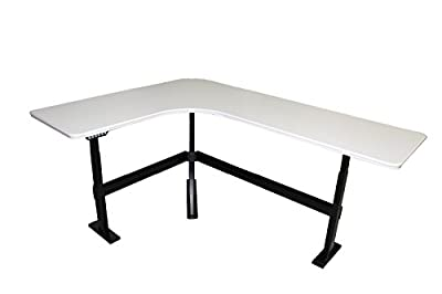 """Height Adjustable Desk 60""""x80"""" Series 7 By: Steelcase"""