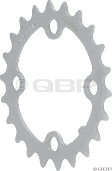 FSA Mtn 9sp chainring, 64BCDx22T (steel) black (9 Speed 64mm 4 Bolt)