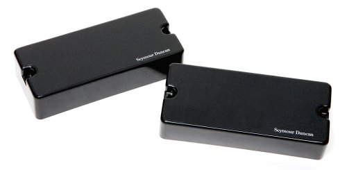 Seymour Duncan Blackouts AHB-1s 7-String Phase II Active Humbucker neck & bridge set Black Active Humbucker Pickup Set