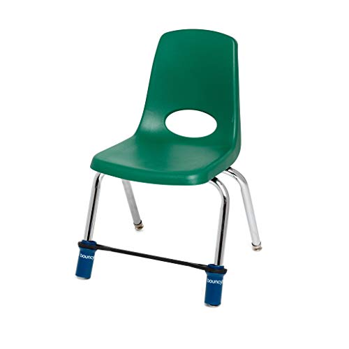 Original Bouncy Bands - Elementary School Chairs (Blue) -Educational Tool that Helps Kids Actively Learn and Stay Engaged