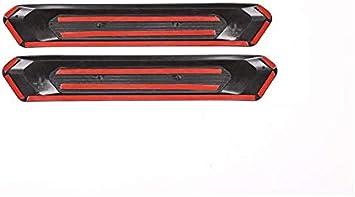 G02 con logotipo colorido M3. X3 YIWANG 2 protectores de placa para umbral de puerta trasera para X4 G01 2019 2018