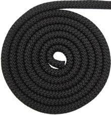 Pyrojoints 405 por metro. cuerda de cable para estufas negro; 10 mm /Ø