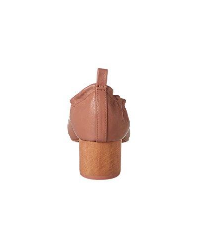 Kelsi Dolk Lott Lederen Pump, 8, Roze