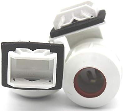 Color : T5 Support de lampe /étanche T5 G13 G8 G5 T8 LED G8 /éclairage fluorescent base l/ég/ère Accessoires Support Prise for aquarium de poissons Accessoires de porte lampe LED