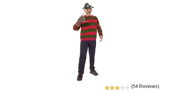 Rubbies - Disfraz de Freddy Krueger para hombre, talla única ...
