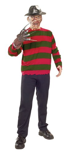 Kids Freddy Krueger Mask (Rubie's Costume Co Freddy Krueger Cost Set Costume, Standard)