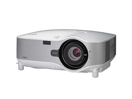 amazon com nec installation np3151w digital projector 1280 x 800 rh amazon com Old NEC Projectors Cables NEC Projector Ports