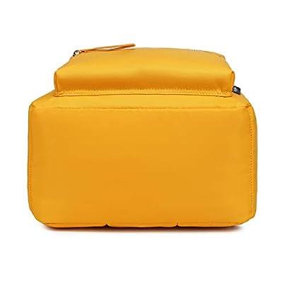 Abshoo Classic Nylon Lightweight Daypack Waterproof Women's Backpack Teen Girls School Bookbag Travel Bag (Yellow)   Kids' Backpacks