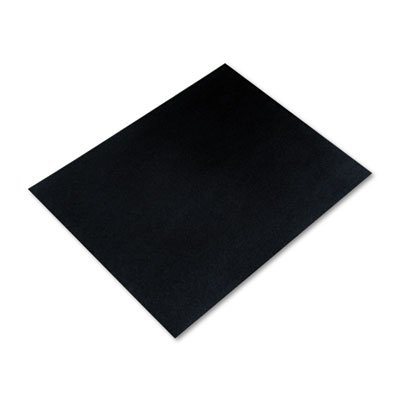 Colored Four-Ply Poster Board, 28 x 22, Black, 25/Carton, Sold as 25 Each