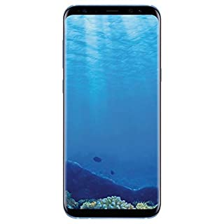 Samsung Galaxy S8+ Plus 64GB T-Mobile GSM Unlocked (Renewed) (Coral Blue)