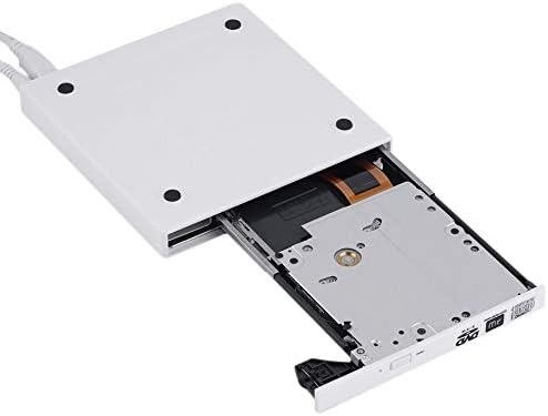 External 2.0 USB Slim DVD/±RW Drive//Writer Black Super Slim USB 2.0 External CD+-RW DVD+-RW DVD-RAM Burner Drive Writer for Laptop PC