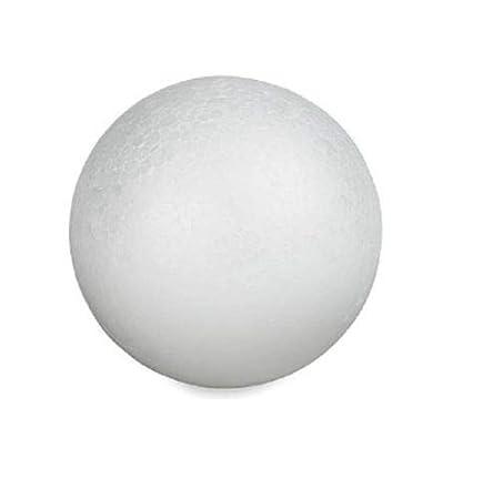 2-12 Balls Smooth Styrofoam Polystyrene Balls for Craft and Project Craft Foam Ball