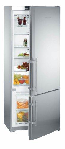 Liebherr CS1400 14.0 Cu. Ft. Gray Counter Depth Bottom Freezer Refrigerator - Energy Star by Liebherr