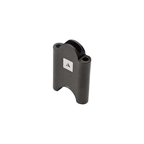 (Profile Designs Aerobar Bracket Riser Kit Black, 70mm)