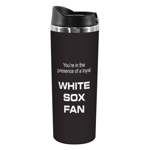 - Tree-Free Greetings TT02082 White Sox Baseball Fan 18-8 Double Wall Stainless Artful Tumbler, 14-Ounce