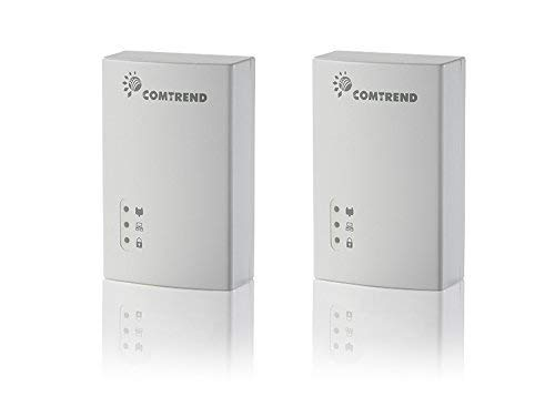 Comtrend G.hn 1200 Mbps Powerline Ethernet Bridge Adapter 2-Unit Kit PG-9172KIT (Wireless Adapter Bridge)