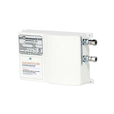 Chronomite SR-20L/240 HTR 240-Volt 20-Amp SR Series Instant-Flow Low Flow Tankless Water Heater by Chronomite